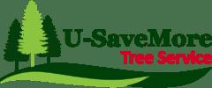 U-SaveMore Tree Service Logo
